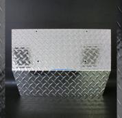 EZGO TXT Aluminum Diamond Plate Front Shock Cover