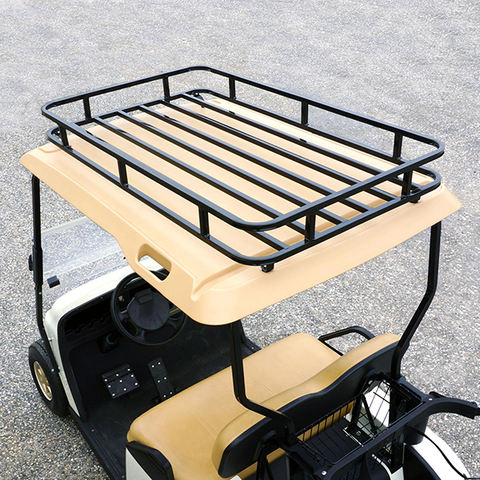 EZGO TXT / Medalist / PDS Roof Storage Rack   Black
