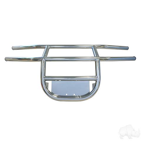 Yamaha G14/ G16/ G19 Golf Cart Brush Guard - Stainless Steel