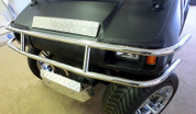 Club Car DS Brush Guard - Stainless Steel