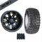 "10"" VEGAS Wheels and 18x8.5-10"" Kenda All Terrain Tires Combo - BLACK"