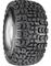 "10"" VEGAS Wheels and 18x8.5-10"" Kenda All Terrain Tires Combo"