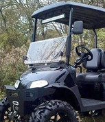 EZGO RXV Folding Windshield (Choose: Tinted or Clear)