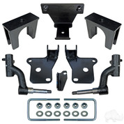 "3"" EZGO RXV RHOX Drop Spindle Golf Cart Lift Kit (2008-2013, Gas & Electric)"