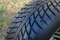 """10"""" SILVER BULLET Wheel and Low Profile DOT Tire combo"""