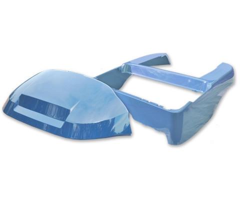 ATLANTIC BLUE Club Car Precedent Full Body Kit (OEM Front Cowl + Body)