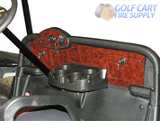 EZGO RXV Dash in Woodgrain