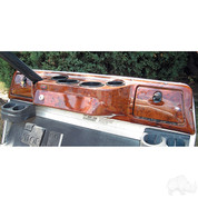 Club Car DS Dash in WOODGRAIN