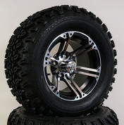 "12"" TERMINATOR Wheel and 23"" All Terrain Tire combo"
