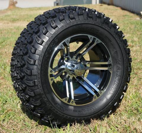"12"" TERMINATOR Wheel and 23"" All Terrain Tire combo"
