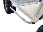 EZGO RXV Stainless Steel Nerf Bars Set