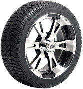 """ITP SS112 14"""" Wheel and GTX Low Profile Tire Combo"""