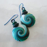 SWIRL STONE STUDIO Jade Takara Earrings