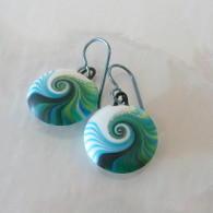 SWIRL STONE STUDIO Jade Namiko Earrings
