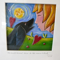 JILL FLINN  Unconditional Love from the Moon and Back (Black Dog)