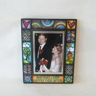 MACONE STUDIO HAPPILY EVER AFTER Wood Picture Frame