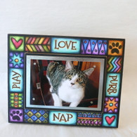 MACONE STUDIO CAT Wood Picture Frame