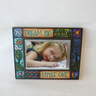 MACONE STUDIO DREAM BIG LITTLE ONE  WOOD FRAME