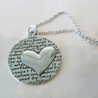 KEVIN N ANNA Large Heart Necklace