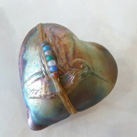 Humming Bird Raku Spirit Rattle Handmade in the USA