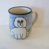 CERAMIC ANIMAL DESIGNS Bichon Frise Mug