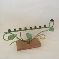 GARY ROSENTHAL Patina Tree of Life Menorah