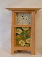 SCHLABAUGH & SONS Contemporary Pendulum Tile Clock