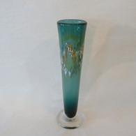 NICHOLSON BLOWN GLASS Pine Bud Vase