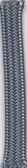 Charcoal Gray Braid Cloth - 18AWG Power Cord (Item: PWC-27)