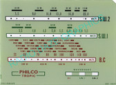 Philco B310B (Philco Tropic) Dial (Item: DG-308)
