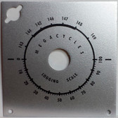 Example of refinished S-102 Faceplate