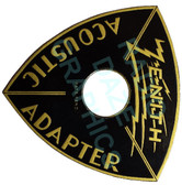 "Zenith Acoustic Adapter ""Beehive"" Label (Item: LBL-ZE-ACOUSTIC)"