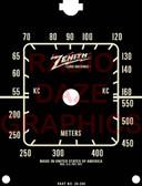 Zenith Model 6D516 Dial (Item: DS-A680)