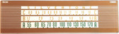 Silvertone Model 7037 Dial Glass (Item: DG-373)