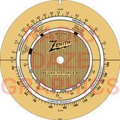 Zenith S-871 Dial (Item: DS-A717)