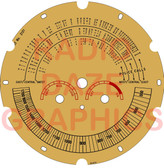 Airline Model 62-114,62-116 Dial (Item: DS-A724)