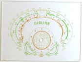 Airline Model 62-301 Dial Glass (Item: DG-451)