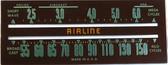 Airline Model 04WG612 Dial Glass (Item: DG-461)