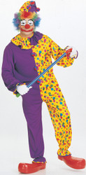 Smiley the clown costumes Adult Funny Costume