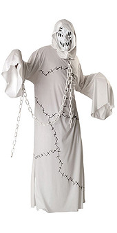 Cool Ghoul Costume Adult Halloween White Costume