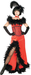 Miss Kitty Saloon Girl Red Dress