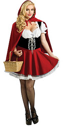 Plus Size Red Riding Hood Costume