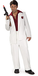 Scarface Tony Montana Costume, Adult Gangster - Halloween Costume 2010