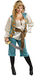 Plus Size Women's Pirate Costume
