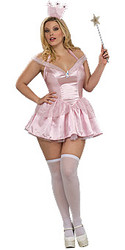 Plus Size Glinda The Good witch costumes