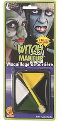 Witch 4 Color halloween makeup kit
