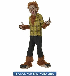 Child Universal Studios Woolf Boy Costume