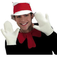 Cat in the Hat Adult Gloves