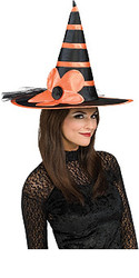 Sunflower Witch Hat Adult Halloween Hat