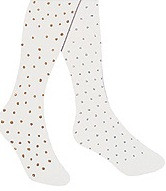 White Tights with Silver or Gold Glitter, Child Storybook